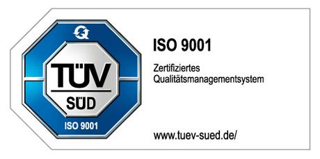 Zertifizierung im Qualitätsmanagementsystem nach ISO 9001