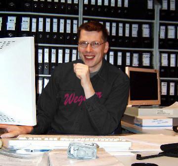 Herr Nitzschke - Leiter Servicezentrale der Wegener GmbH
