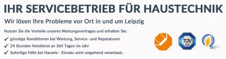 Servicebetrieb für Haustechnik vor Ort in und um Leipzig